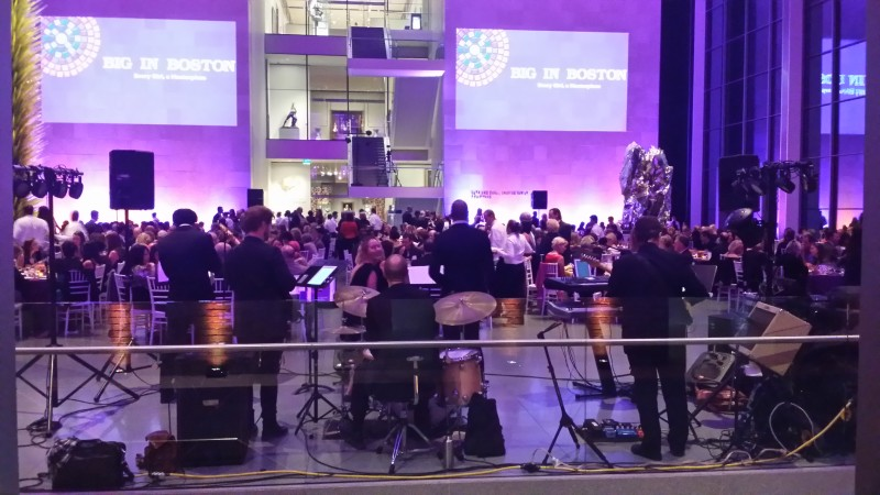 Encore Band Performs at Museum of Fine Arts Boston to Benefit Big Sister Association