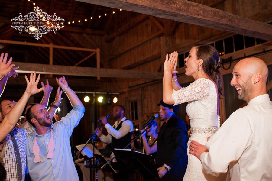 Rustic Romance Wedding At Flanagan Farm Featuring Encore Band 10/5/13
