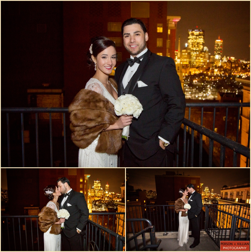 The Wedding Connection: Vintage Wedding At Omni Parker House Featuring Joey Scott
