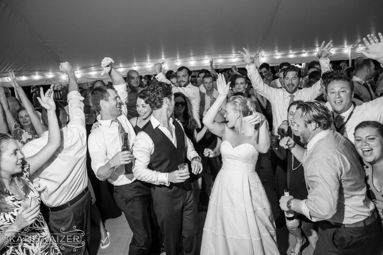 Meaghan and Tim's Cape Cod wedding featuring Eye 2 Eye – Photo by Katie Kaizer Photography