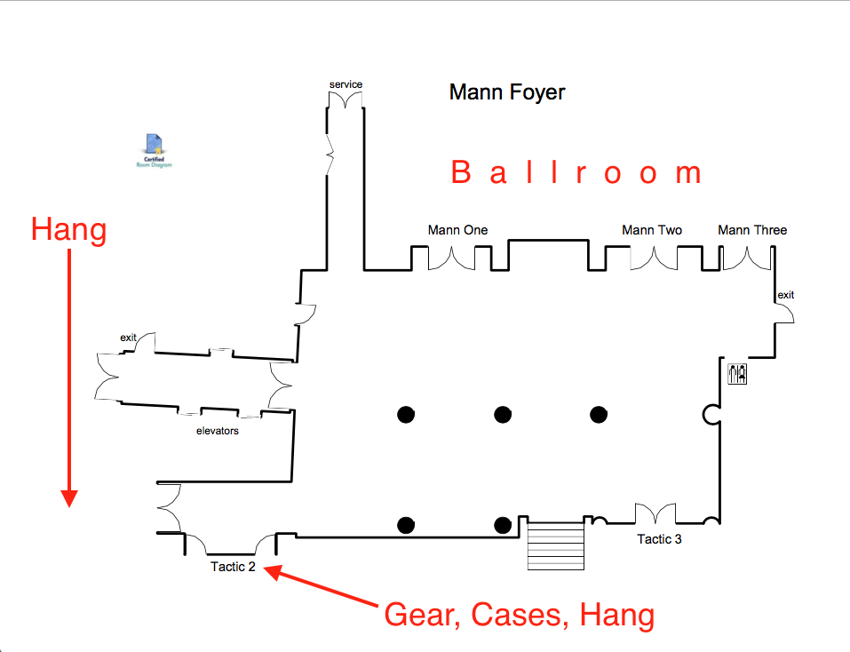 Storage/ Foyer Diagram