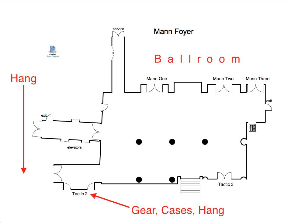 Storage/ Foyer Diagram